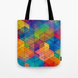 Cuben Intense No.2 Tote Bag