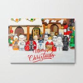 Star war Christmas Metal Print