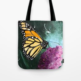 Butterfly - Soft Awakening - by LiliFlore Tote Bag