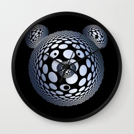 Bubble Bear Wall Clock