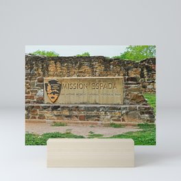 Mission Espada I Mini Art Print