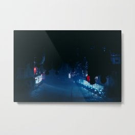 We only come out at night Metal Print