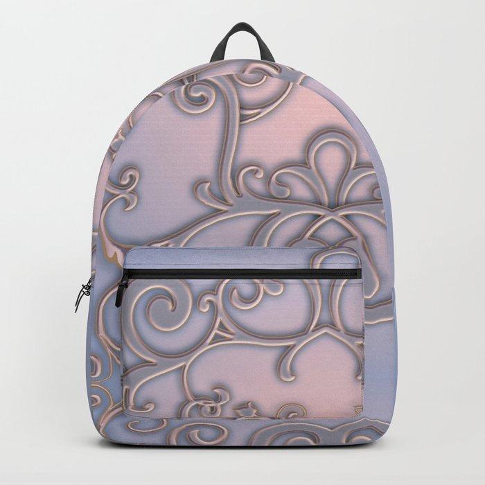 Rose Quartz Serenity Enblem Backpack