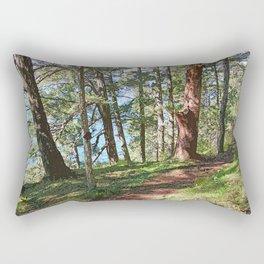 SHORELINE WOODS Rectangular Pillow