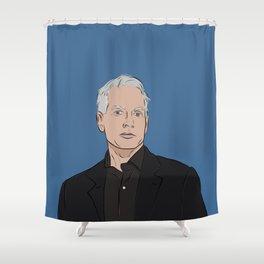 NCIS Gibbs Shower Curtain