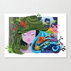 Bad Hair Day 2 Canvas Print