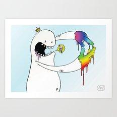 Eugh! Art Print