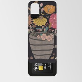A cup of flowers Android Card Case