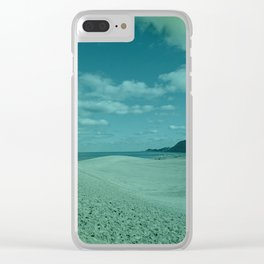 Sand Dune 2 Clear iPhone Case