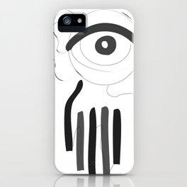 mein aügapfel iPhone Case