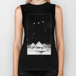 The Pyramids of Giza Biker Tank
