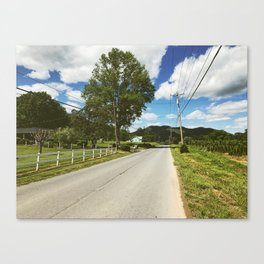 Road Walk • Appalachian Trail Canvas Print
