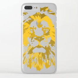 tattoo animal gift motive tattoo picture Clear iPhone Case