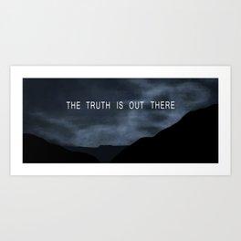 Truth. Art Print