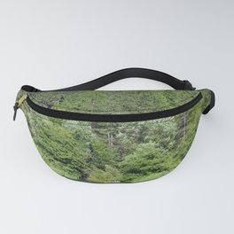 one kayak in the green Fanny Pack