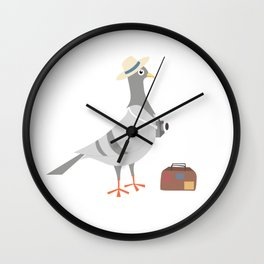 Enjoy your summer... traveling! Wall Clock
