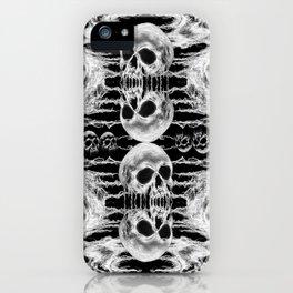 Freak Skull Pattern iPhone Case