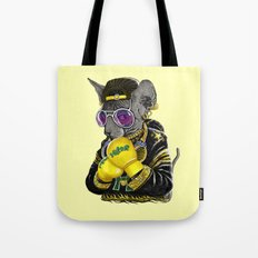Boxing Cat 3 Tote Bag