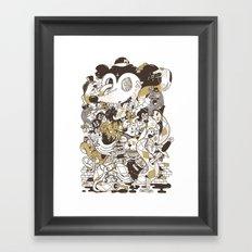 con$umer Framed Art Print