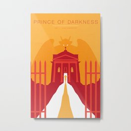 John Carpenter, Modern Master Series :: Prince of Darkness Metal Print