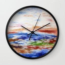 De la terre Wall Clock