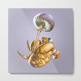 Mushroom Joy Metal Print