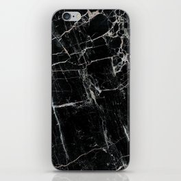 Black Marble Edition 1 iPhone Skin