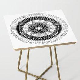 ABUNDANCE MANDALA Side Table