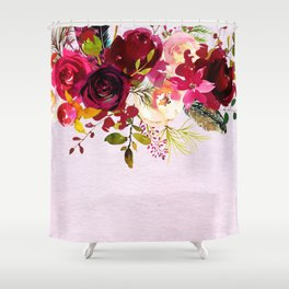 Flowers bouquet #38 Shower Curtain