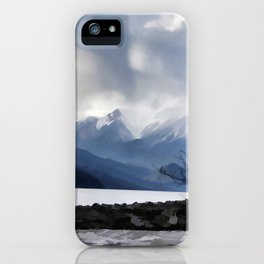 Majestic Mountains iPhone Case