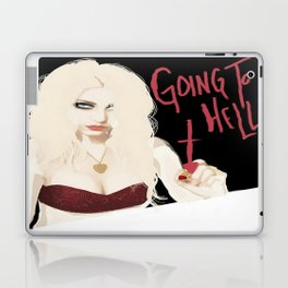 Taylor Momsen Going to hell. Laptop & iPad Skin
