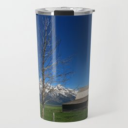 At The Mormon Row Travel Mug