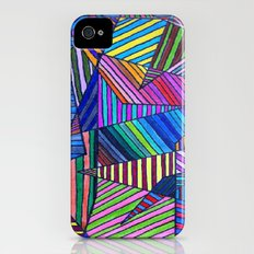 Colorful Lines iPhone (4, 4s) Slim Case