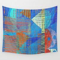 fishing Wall Tapestries featuring Fishing Nets  by Fernando Vieira