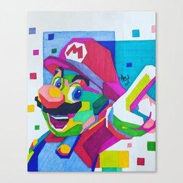 SuperMario Canvas Print