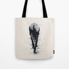 Up in the Woods Tote Bag