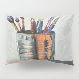 For The Love of Paint Pillow Sham
