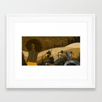 south africa Framed Art Prints featuring South Africa by sercantunali