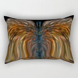 Lioness Blue Angel Rectangular Pillow