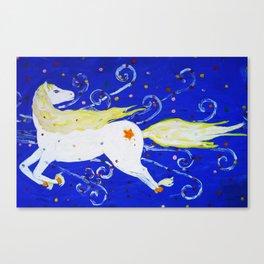 Night Horse Canvas Print