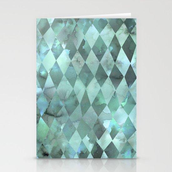 PATTERN {diamonds 001} Stationery Cards