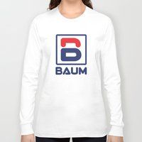 tenenbaum Long Sleeve T-shirts featuring Richie 'Baum' Tenenbaum T-Shirt by Tabner's