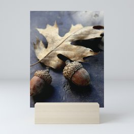 Under the oak Mini Art Print