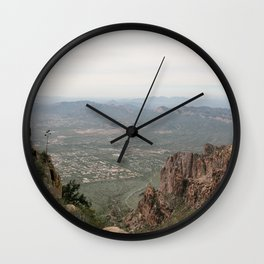 Superstition Views Wall Clock