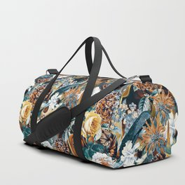 Flowers and Birds Duffle Bag