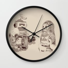 be mine - valentine Wall Clock