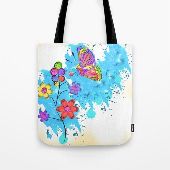 Season of Colors Tote Bag
