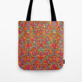 Verre Colore Pattern Tote Bag