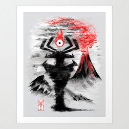 Eye of the Shadow Art Print