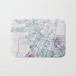 Albuquerque map Bath Mat